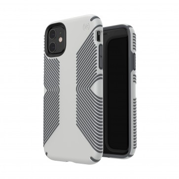 Speck iPhone 11 PRESIDIO GRIP (MARBLE GREY/ANTHRACITE GREY)