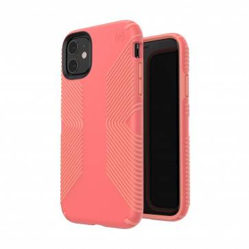 Speck iPhone 11 PRESIDIO GRIP (PARROT PINK/PAPAYA PINK)