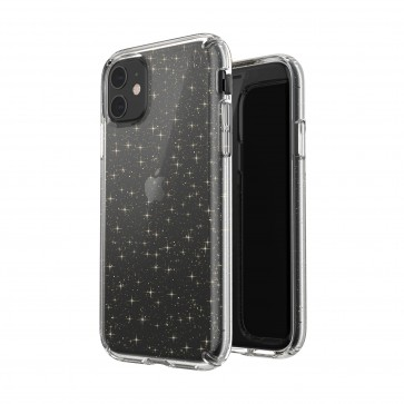 Speck iPhone 11 PRESIDIO CLEAR + GLITTER (CLEAR WITH GOLD GLITTER/CLEAR)