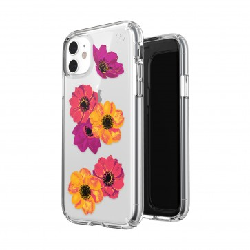 Speck iPhone 11 PRESIDIO CLEAR + PRINT (POPARTFLORAL/CLEAR)