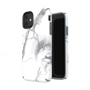 Speck iPhone 11 PRESIDIO INKED (CARRARAMARBLE MATTE/GREY)