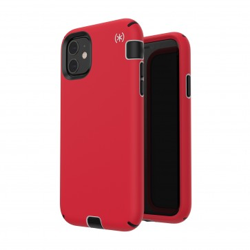 Speck iPhone 11 PRESIDIO SPORT (HEARTRATE RED/SIDEWALK GREY/BLACK)