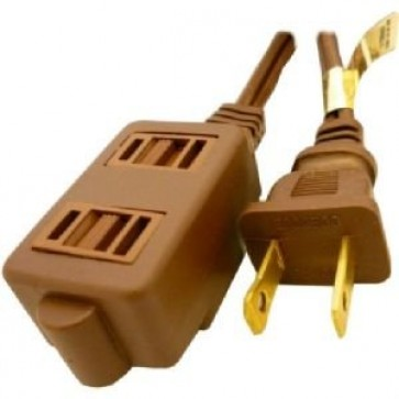 Professional Cable EXTCORD-09 Standard 9-Feet Extension Cord