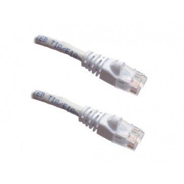 Professional Cable Category 5E Ethernet Network Patch Cable with Molded Snagless Boot, 7-Feet, White (CAT5WH-07)