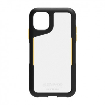 Griffin Survivor Endurance for iPhone 11 - Black/Citrus/Clear