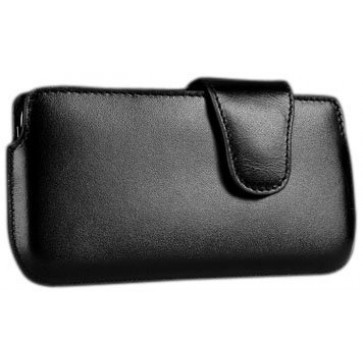 Sena 826516 Laterale Leather Holster for iPhone 5 & 5s - 1 Pack - Retail Packaging - Croco Black