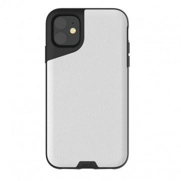 Mous iPhone 11 Contour Case White Leather