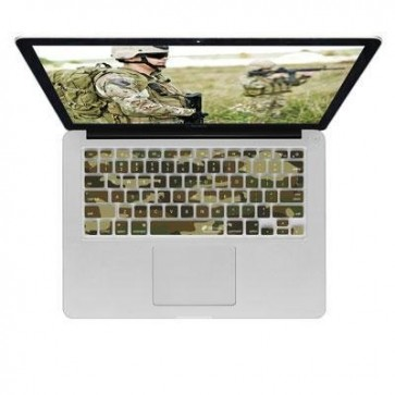 KB Covers Keyboard Cover for MacBook/Air 13/Pro (2008+)/Retina - Camouflage (CAMO-M-CC)