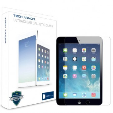 Tech Armor Apple iPad Mini with Retina Display / iPad mini Premium Ballistic Glass Screen Protector - Protect Your Screen from Scratches and Drops - Maximize Your Resale Value - 99.99% Clarity and Touchscreen Accuracy