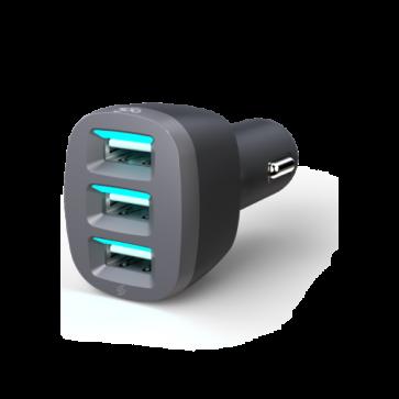 360 Electrical VividDrive7.2 3-Port 7.2A USB Car Charger