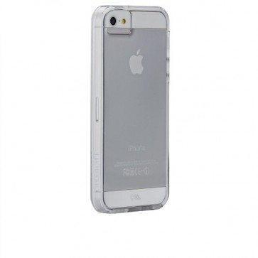 Case-Mate Case for iPhone 5 - Retail Packaging - Clear with Clear Bumper