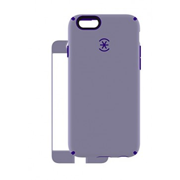 Speck Products CandyShell Plus Faceplate Case for iPhone 6/6S - Retail Packaging-Heather Purple/Ultraviolet Purple