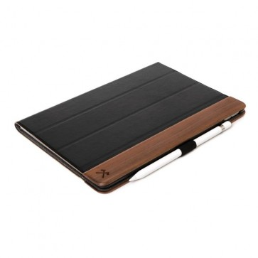 "Woodcessories EcoFlip Walnut/Leather (vegan) iPad Pro 11"" (2018)"