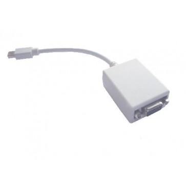 Professional Cable MDP-VGA Mini DisplayPort to VGA 6-in Cable - White