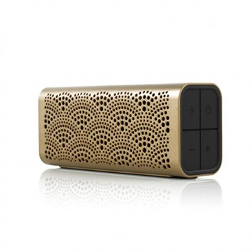 Braven LUX Wireless HD Bluetooth Speaker - Retail Packaging - Gold