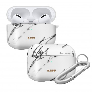 Laut AirPods Pro HUEX ELEMENT Case MARBLE WHITE