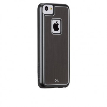Case-Mate Barely There Sleek for Apple iPhone 5c - Retail Packaging - Silver