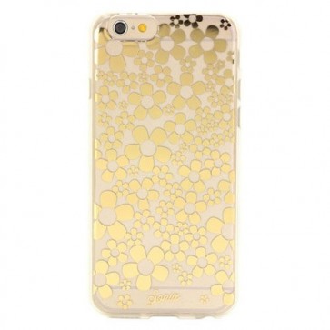 Sonix Clear Coat for iPhone 6 Plus - Retail Packaging - Hello Daisy Gold