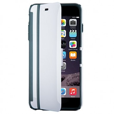 Speck Products CandyShell Wrap Case for iPhone 6 Plus/6S Plus - White/Charcoal Grey