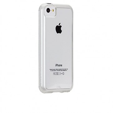 Case Mate Case-Mate iPhone 5C Tough Naked - Clear w/Clear Bumper - Carrying Case - Retail Packaging - Clear