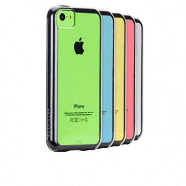 Case-Mate Naked Tough Case for Apple iPhone 5c - Retail Packaging - Clear/Black
