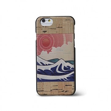 Reveal Slim Wood Case for iPhone 6 - Izu Printed Cork - 14SC0815NTR