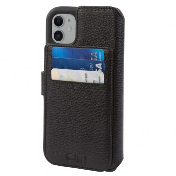 HEX 4-in-1 Leather Case for iPhone 11  BLACK