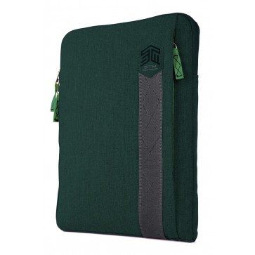 STM ridge 11-in. laptop sleeve botanical green