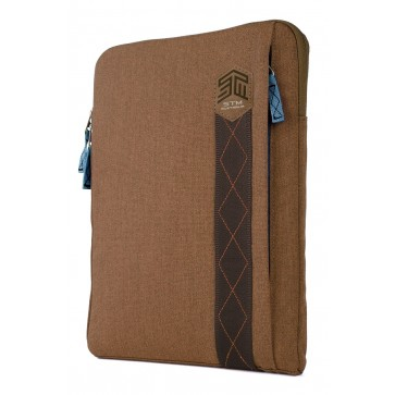 STM ridge 15-in. laptop sleeve desert brown