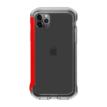 Element Case iPhone 11 Pro/X/XS Rail clear/solid red