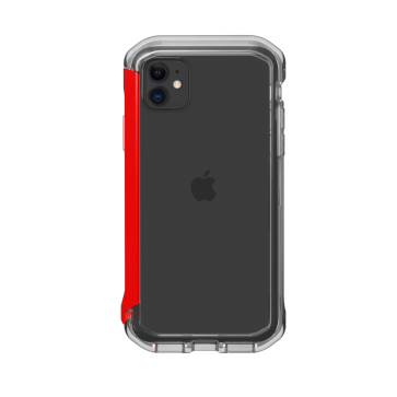 Element Case iPhone 11/XR Rail clear/solid red
