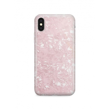 Recover Rose Shimmer iPhone XR case