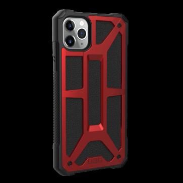 Urban Armor Gear Monarch Case For Apple iPhone 11 Pro Max - Crimson And Black