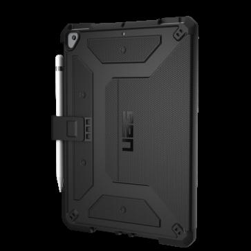 Urban Armor Gear Metropolis Folio Wallet Case For Apple iPad 10.2 7th Gen - Black