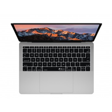 """KB Covers Black Keyboard Cover for MacBook 12"""" Retina & MacBook Pro 13"""" (Late 2016+) No Touch Bar"""