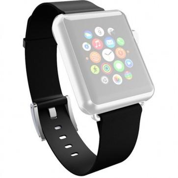 Incipio Premium Leather Watch Band for Apple Watch 38mm - Ebony