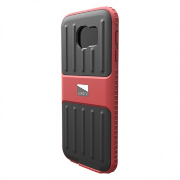 Lander Powell Samsung Galaxy S6 Case Red