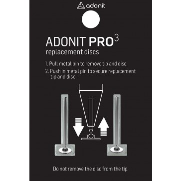 Adonit Pro 3 Replacement Discs 2-Pack