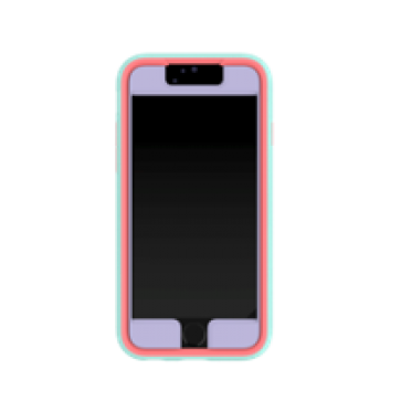 Speck iPhone 6/6s MightyShell + Faceplate Heather Purple/Warning Orange/Aloe Green