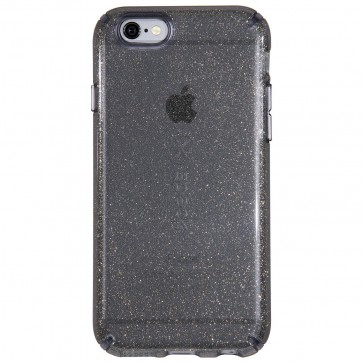 Speck IPHONE 6/6s CANDYSHELL CLEAR - OBSIDIAN GOLD GLITTER/OBSIDIAN