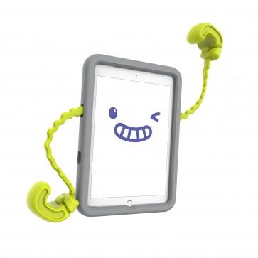 Speck iPad 9.7-Inch, 9.7-Inch iPad Pro, iPad Air 2/1 Case-E (Rhino Grey/Citrus Yellow)