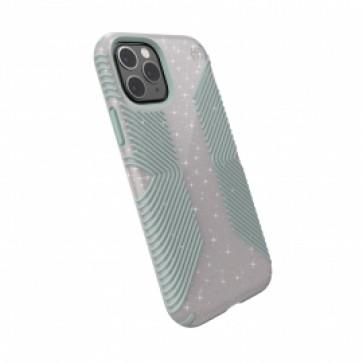 Speck iPhone 11 Pro PRESIDIO GRIP + GLITTER (WHITESTONE GREY GLITTER/BLUE)