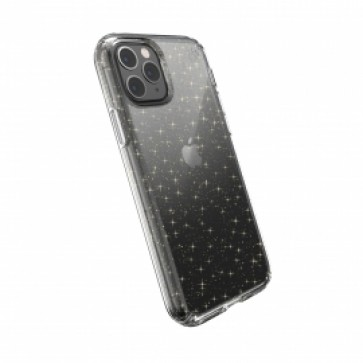 Speck iPhone 11 Pro Max PRESIDIO CLEAR + GLITTER (CLEAR WITH GOLD GLITTER/CLEAR)
