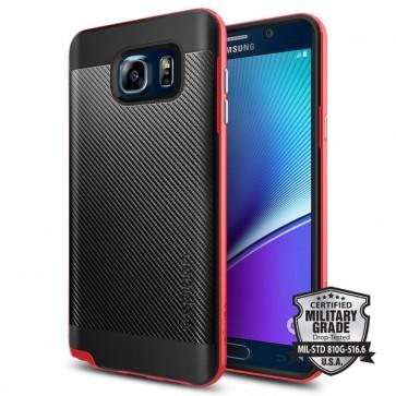 Spigen  Galaxy Note 5 Case Neo Hybrid Carbon Dante Red
