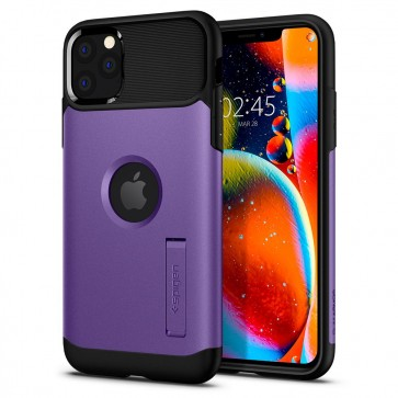 Spigen iPhone 11 Pro Max Slim Armor Case Purple