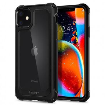 Spigen iPhone 11 Gauntlet Case Carbon Black