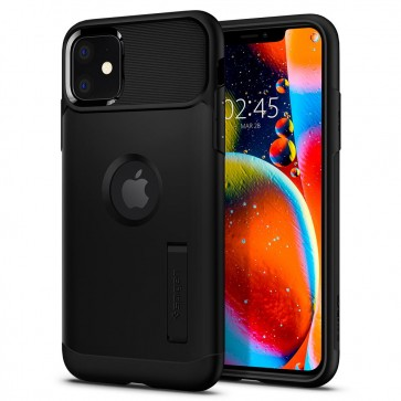 Spigen iPhone 11 Slim Armor Case Black