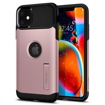 Spigen iPhone 11 Slim Armor Case Rose Gold
