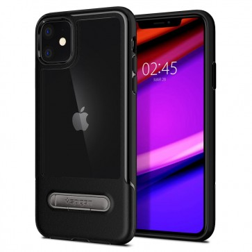 Spigen iPhone 11 Slim Armor Essential S Case Black