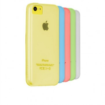 Case-Mate Gelli Case for iPhone 5C - Retail Packaging - Clear